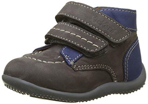 Kickers, Unisex Baby Babyschuhe - Lauflernschuhe, Grau - Grau (Gris Blue 122) - Größe: 20 EU