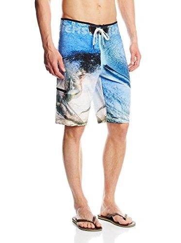 Chiemsee Herren Fixed Boardshorts Lorcan, Blue Aster, 34
