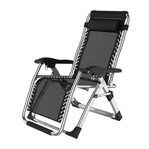 Xiao Jian-Garden Chairs Folding Zero Gravity Reclining Lounge Chairs, Outdoor Beach Patio Lounge Chair Wider Armrest Adjustable Recliner With Cup Holder, Support 350 Lbs