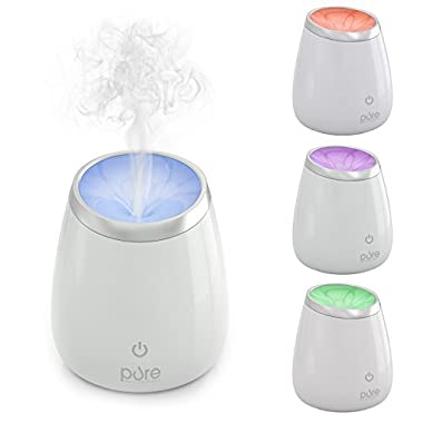 PureSpa Deluxe Ultrasonic Aromatherapy Oil Diffuser High Capacity Aroma Diffuser Lasts for Up to 10 Hours with Automatic Shut-Off for Home & Office Safety