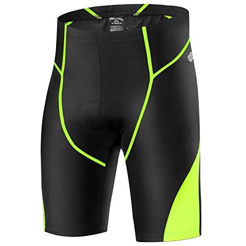 X-TIGER Montagne Cyclisme Shorts Velo avec Sweat Absorbent Volatility Fast Drying Padded 3D Gel pour Homme Femme