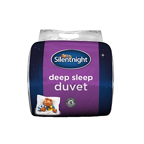 Silentnight Deep Sleep Duvet, 15 Tog, White, Double