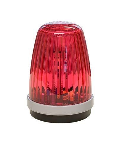 Schartec Profi-Signalleuchte 12-24 V & 230 V Torantrieb Warnleuchte Warnlicht rot
