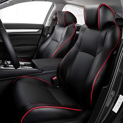 FLY MEN Personalizar Asiento de Microfibra de Cuero Artificial Coche Cubre Cojines del Asiento de Auto Set for Volkswagen Caddy Touareg Polo sedán Passat B3 Caddie Tiguan Tiguan Golf Escarabajo