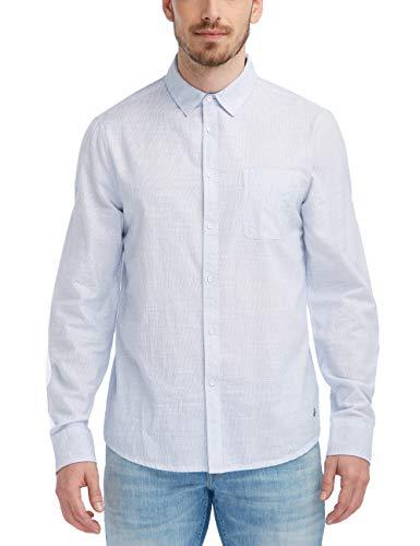 MUSTANG Herren Slim Fit Nadelstreifen-Hemd