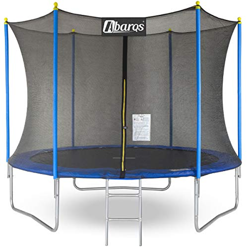 Trampoline 8ft / 10ft / 12ft / 14ft Premium garden & fitness series. Safety Enclosure with special...