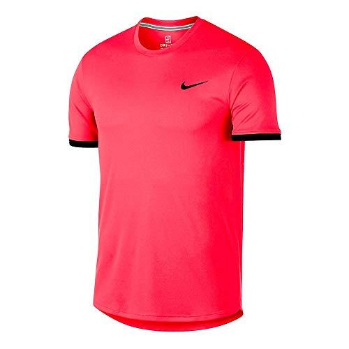 Nike Court Dry Colourblocked Camiseta, Hombre, Laser...