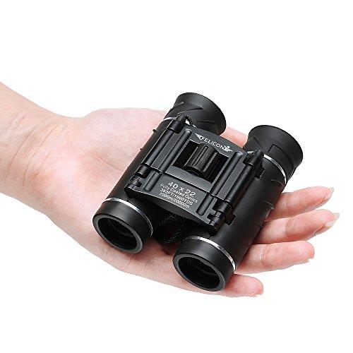 FELiCON Profesional prismáticos Bolsillo HD Zoom óptico Lente FMC visión Nocturna prismáticos telescopio para la Caza y al Aire Libre Viajes