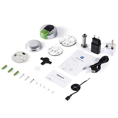 BlackUdragon Vstarcam Draadloze Deurbel Camera WiFi Deur Intercom Nachtzicht IP Video Deur Telefoon Recorder Bell Telefoon Voor IOS Voor Android
