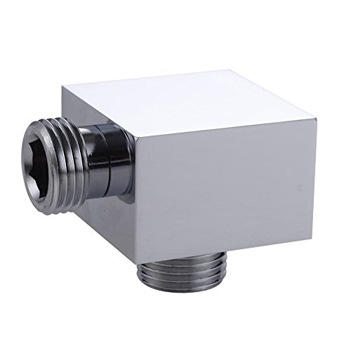 For Sale! KES PS3 Brass Universal Showering Component Spout Shower Connector G 1/2, Polished Chrome