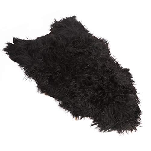 zwart schapenvacht ikea
