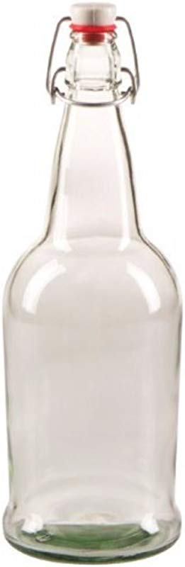 Midwest Homebrewing And Winemaking Supplies CASE OF 12 32 Oz EZ Cap Beer Bottles Clear