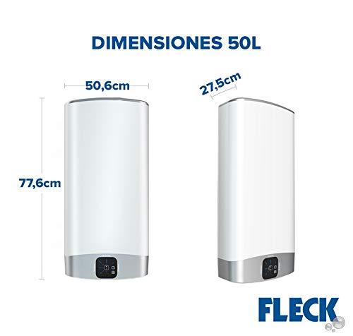 Termo El/éctrico Vertical//Horizontal Fleck Bon7520 Con Capacidad De 75 Litros Ariston Thermo BON 2.0 75