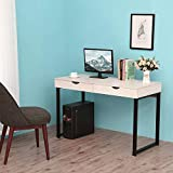 Vanity Desk, Dressing Table with 2 Drawers Without Mirror, Computer Desk, Home Computer Table, Women Girls Makeup Table,Simple Office Desk, Writing Desk, Gaming Table, Bedside Table, Easy Assembly