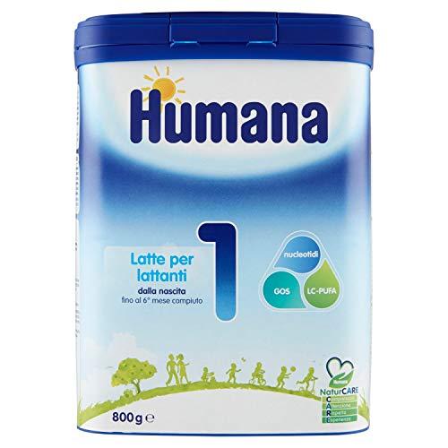 Humana Latte per Lattanti 1, 800g