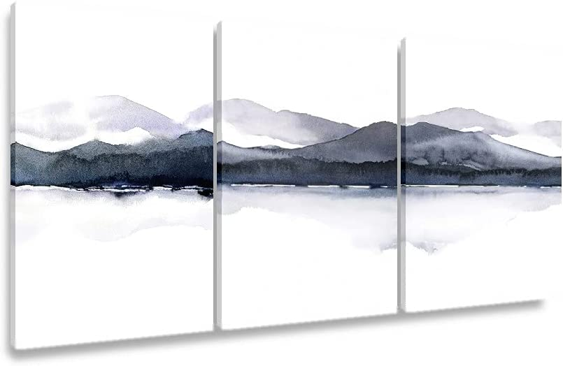 Lowest Award-winning store price challenge Mountain Landscape Watercolor Abstract Wal Northern European Art