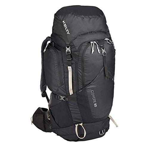 Kelty Coyote 80 Backpack, Aluminium Frame, Black, 80 Litres Top Loading