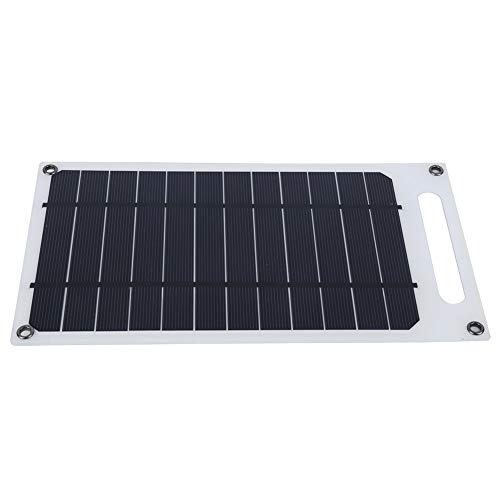 Alinory Waterproof Lightweight Outdoor Solar Panel Reliable Solar Charging Board UltraThin Portable Camping for Outdoor