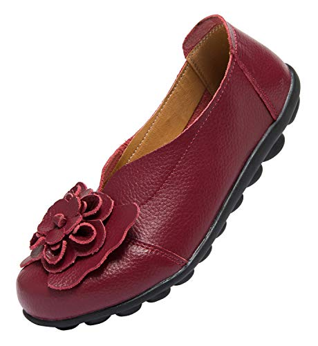 Top 10 best selling list for office red flat shoes