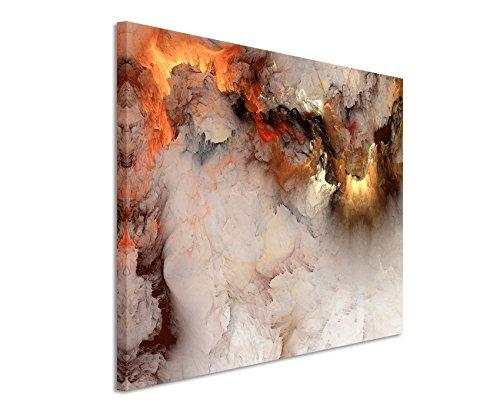 Fotoleinwand 90x60cm Gemälde abstrakt modern chic chic dekorativ schön deko schön deko er Wolken mit Lichtdurchbruch auf Leinwand exklusives Wandbild moderne Fotografie für ihre Wand in vielen Größen