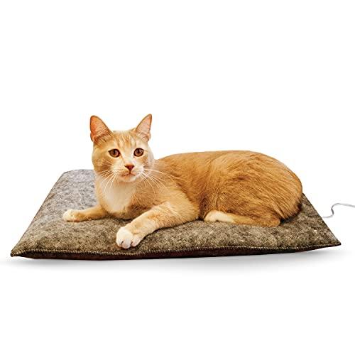 K&H Pet Products Amazin Kitty Pad, 20u0022 x 15u0022, Gray