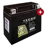 YTX20L-BS TECNO GEL-Batterie für FLSTF 1340 Fat Boy Baujahr 1991-1999