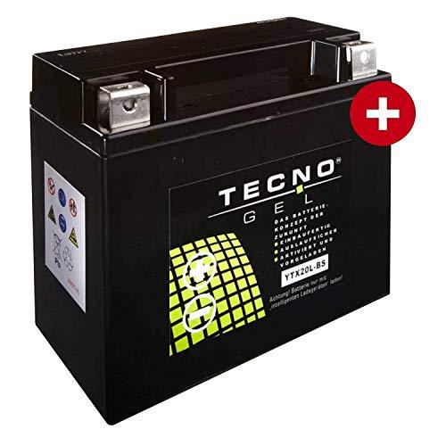 YTX20L-BS TECNO GEL-Batterie für FLD 1690 Dyna Switchback ABS Baujahr 2012-2016
