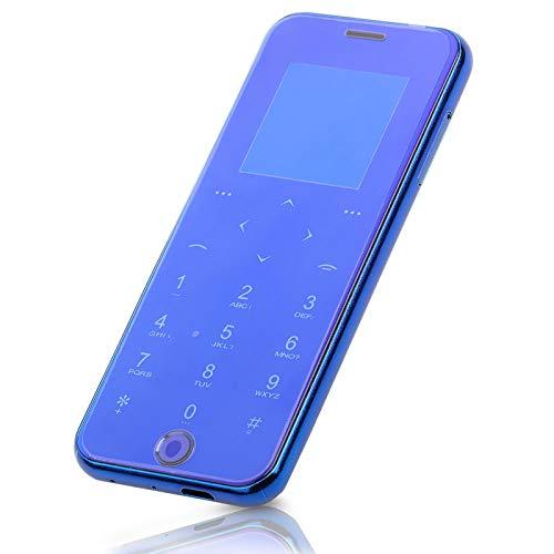 Mini teléfono con tarjeta inteligente, 1.54 pulgadas, pantalla táctil, teléfono inteligente Dual Sim, teléfono móvil delgado y antipérdida, elegante teléfono para estudiantes, tarjeta Micro SD/TF de h
