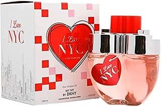 I LOVE NYC women's perfume by DIAMOND COLLECTION 3.4fl oz