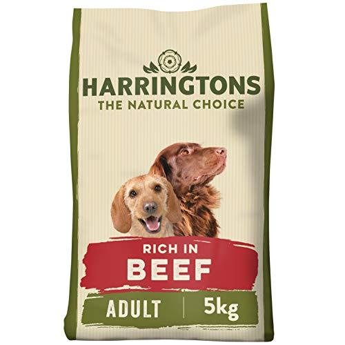 Harrington Complete - Comida para perros - Carne con mezcla seca de arroz integral, 5 kg, paquete de 3
