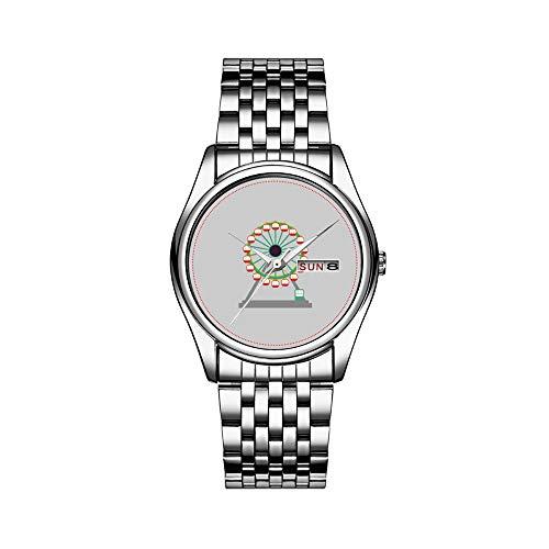 Reloj de lujo para hombre, resistente al agua, 30 m, con fecha, reloj deportivo, de cuarzo, informal