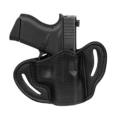 1791 GUNLEATHER Ultra Custom Leather Holster for Sig P238, P365, Glock 43, 42, Kimber Micro, Ruger LC9, SR22, Walther PPK Pistols - OWB CCW Holster - Memory Lock Right Handed Leather Gun Holster