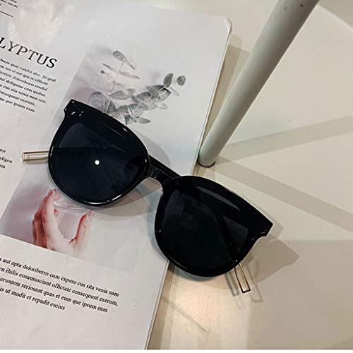 Talent Gafas de Sol cuadradas para Hombres,Gafas de Sol clásicas Harajuku Retro ensanchadas,polarizador de conducción.