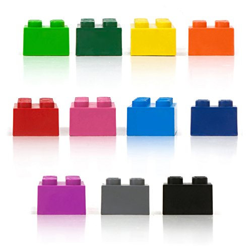 Fred STACK-A-DOODLE Stacking Block Crayons