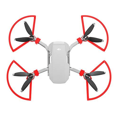 RC GearPro 4PCS Puntelli a sgancio rapido Protezioni eliche Anello di protezione per DJI Mavic Mini Drone (Rosso)