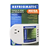 Refrigmatic MEGA Electronic Surge Protector for Big Refrigerators 27 cu. ft. or More