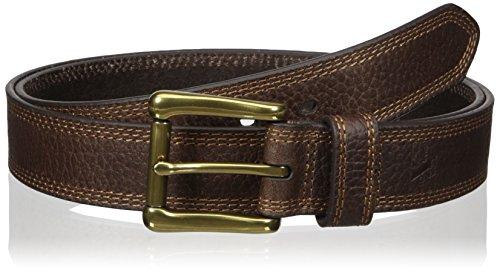 Nocona Belt Co. Men's Work Brown Triple Stitch, 58