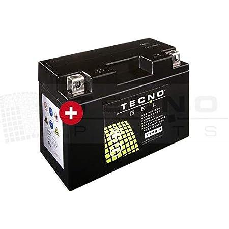 Tecno Gel Motorrad Batterie Yt9b 4 12v Gel Batterie 8ah 150x69x105 Mm Inkl Pfand Auto