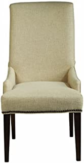 Magnussen D2503-63 Rothman Warm Stained Finish Upholstered Chair, Set of 2