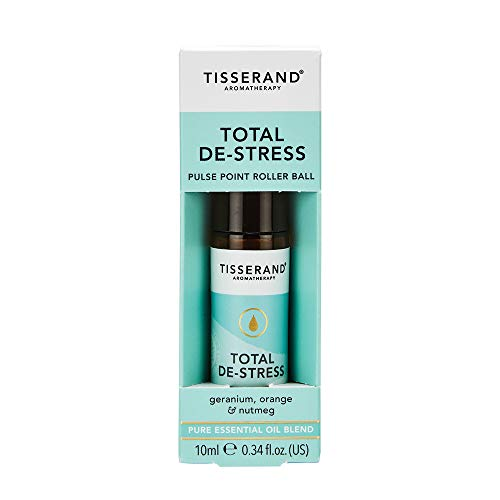 Tisserand Pure Essential Oil, De-Stress, 0.3 Ounce