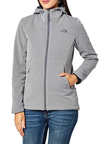 The North Face Women's Shelbe Raschel Hoodie, TNF Medium Grey Heather, Small
