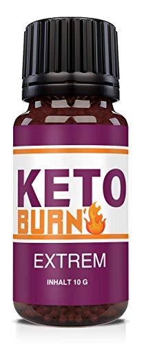 NEU: HelloNutrition KETO BURN EXTREM Globuli für Frauen & Männer mit Grüntee, Zimt & Ingwer - mit hochwertige natürliche Inhaltsstoffe - SCHNELL - STARK - ERFOLG