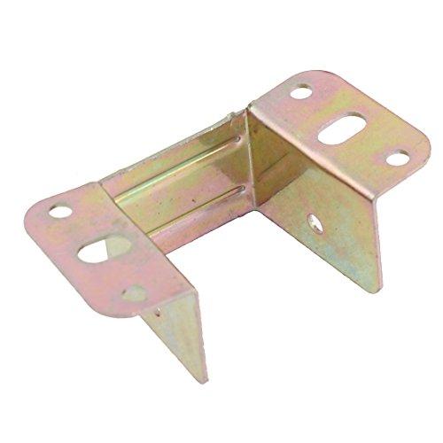 Aexit Bett Metall U Winkelhalterung Bronze Ton 85mm x 43mm x 32mm (96fc98f79174c4641284ae08618fd12a)