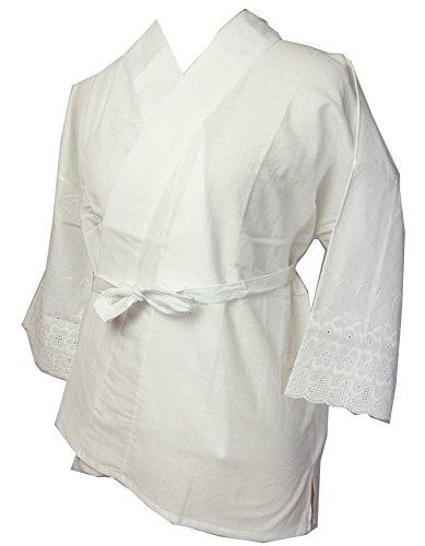 和装下着 さらし半襦袢バチ衿仕立て M/L/LLサイズ 襦袢を着ているように見せるお仕事、業務、踊りに着物肌...
