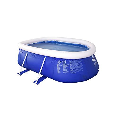 Super11Six Piscina Desmontables, Steel Pro, Pool para Adulto
