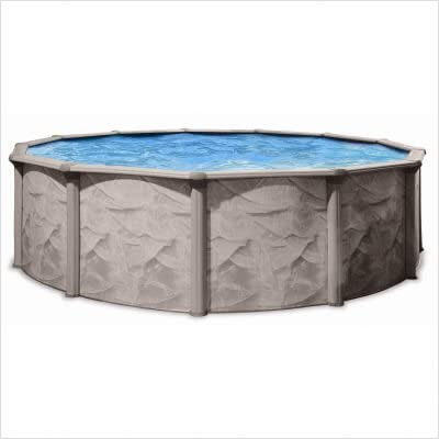 QCA Spas Now free shipping 106AD1552 Aqua Deluxe 15-Feet Deep 52-Inch Ab New life Round and