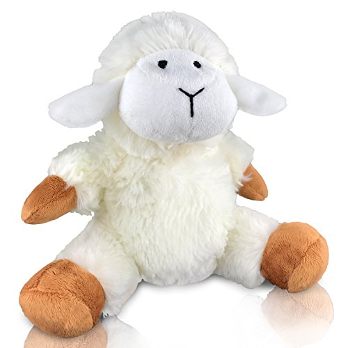 EpicKids Stuffed Sheep - Plush Lamb Animal - Suitable for Babies and Children - 7 Inches