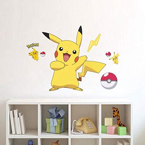 Anchor Pokemon Pikachu Peel and Stick Tatuajes de Pared for niños ...