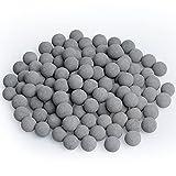 Lystaii 120pcs Tourmaline Balls for Betta Aquarium Tank Balls Mineral Calcium Mineral Balls for...