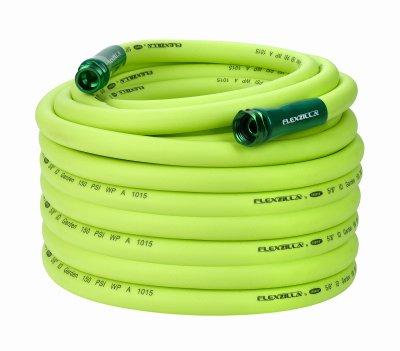 Flexzilla HFZG5100YW Garden Hose, Green, 5/8-In. x 100-Ft. - Quantity 3